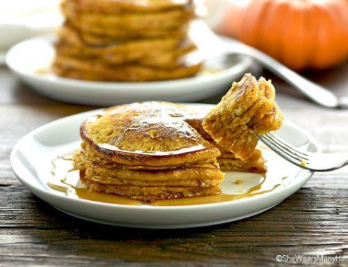 Pancakes με κολοκύθα